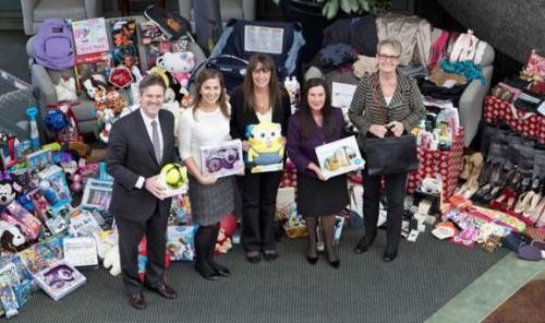 GIA Donates Toys, Clothing To San Diego Charities