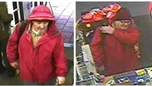 Unidentified male uses a stolen credit card at a San Diego business.
