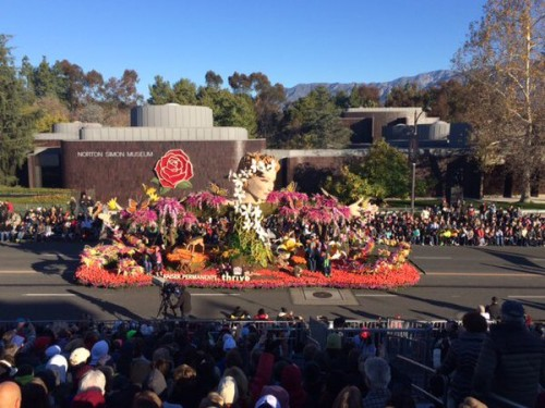"Kaiser Permanente's ""Helping Mother Nature Thrive"" Takes Grand Marshal's Trophy"