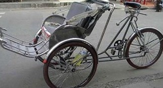 Thieves Steal Vietnamese Cyclo Bicycle