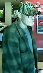 Authorities Seek Identity Of Bank Of America Robber