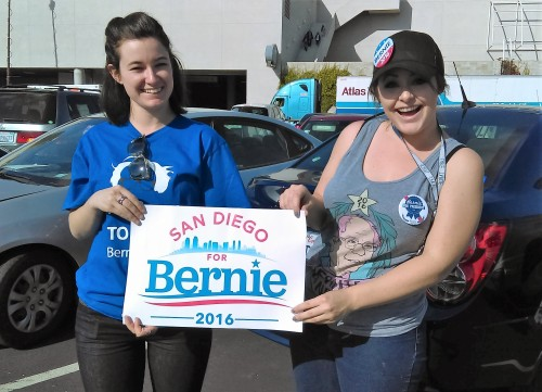 Photo Gallery: Bernie Sanders Rally In San Diego