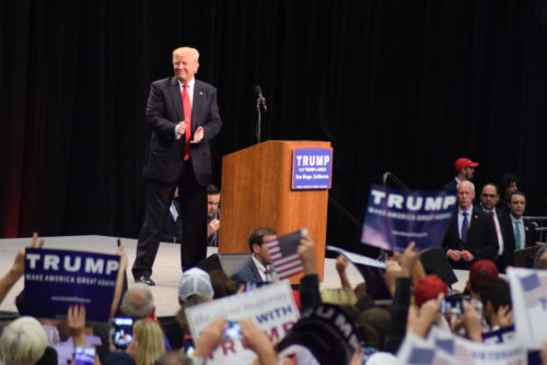 Donald Trump Brings His Campaign To San Diego