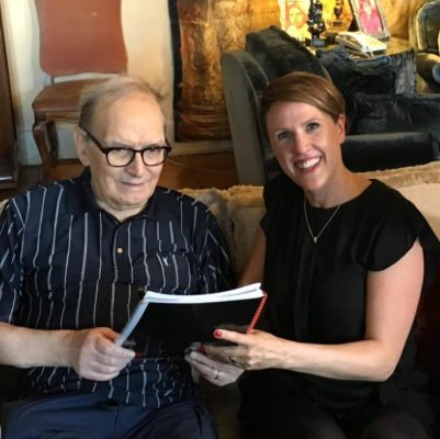 Oscar-Winning Composer Ennio Morricone Signs With Decca Records