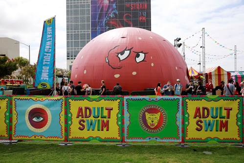 Adult Swim Brings Epic Fan Experience To Comic Con
