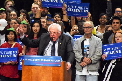Photo Gallery: Bernie Sanders In San Diego