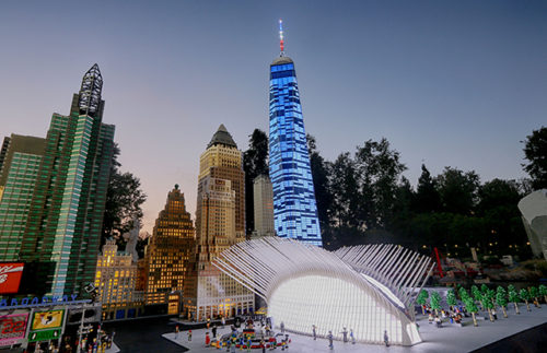Legoland CA Resort Unveils One World Trade Center
