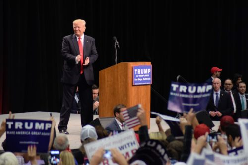 Photo Gallery: Donald Trump In San Diego