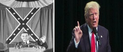 Donald Trump Bears A Striking Resemblance to George Wallace of 1968