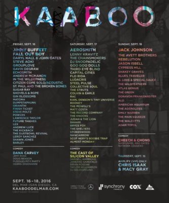 Virgin Produced Tapped As Official Content Partner Of KAABOO Del Mar