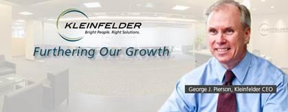 Kleinfelder Names George Pierson As CEO