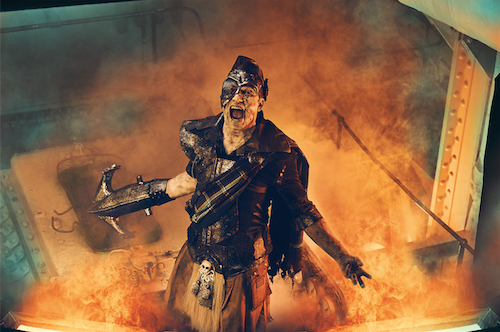 The Queen Mary's Dark Harbor Unveils The Spirit Of Iron Master