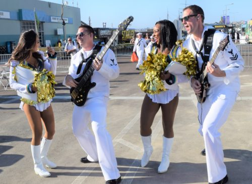Fleet Week San Diego Pays Tribute To The Military