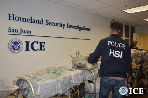 ICE, Caribbean Corridor Strike Force Seize 1,786 Kilograms Of Cocaine