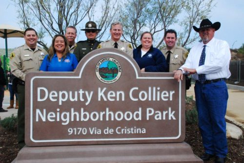 Deputy Ken Collier Neighborhood Park Opens