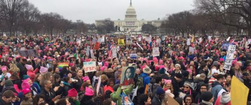 500,000 Women Protesters Convened in Washington Vowing to Resist President Trump