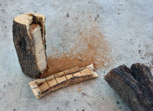 Customs And Border Protection Officers Seize Marijuana Inside Of Firewood