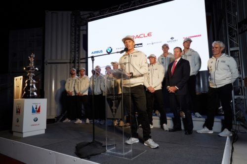 Oracle Team USA Reveals New Class Boat For America's Cup Race