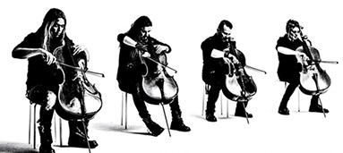 Finnish Cello Rockers Apocalyptica At Copley Symphony Hall