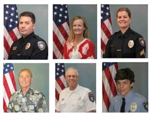 Carlsbad Police Department Names 2017 Employees And Volunteers Of The Year
