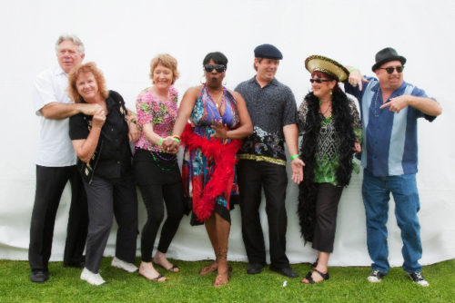 Sue Palmer And Her Motel Swing Orchestra At Summer Concerts In The Garden