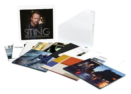 Sting: The Complete Studio Collection To Be Released June 9