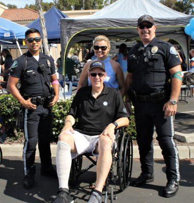Oceanside Police Officers Association Foundation Host Blood Drive For Injured Officer Hunter