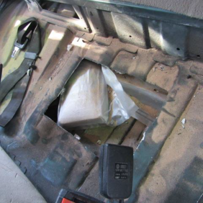U.S. Customs And Border Protection Officers Nab Two Meth Smugglers At Arizona Port