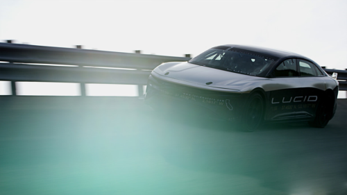 Lucid Air Prototype Achieves 235 MPH, Shattering Previous Recorded Speed