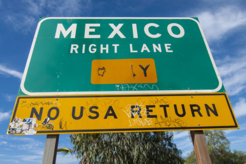 U.S. State Department Issues Mexico Travel Warning