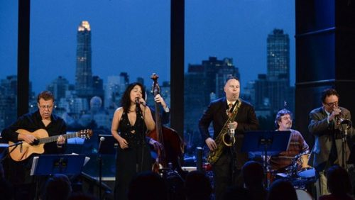 Trio da Paz and Friends with Maucha Adnet, Claudio Roditi, and Harry Allen Played Tribute to Jobim and Getz at Dizzy's Club