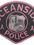 Oceanside Police Officers Participate In Breast Cancer Awareness Month