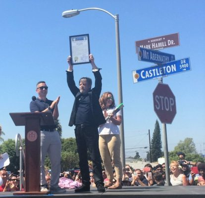 Mark Hamill Honored In San Diego