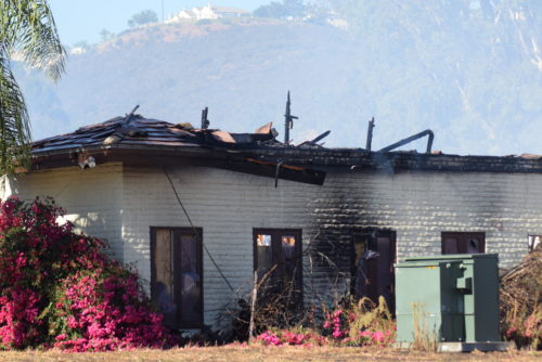 Major Fire Destroys Escondido Country Clubhouse
