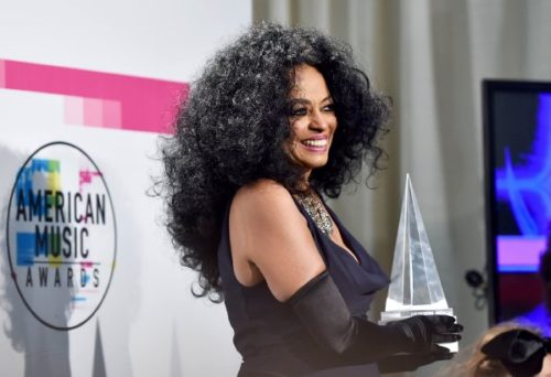 American Music Awards Honors Diana Ross