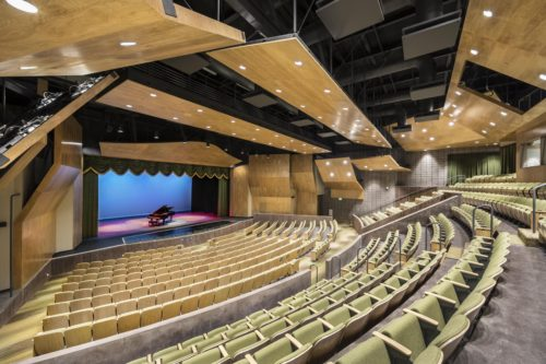 Patrick Henry High School's Performing Arts Center Recognized For Outstanding Architecture
