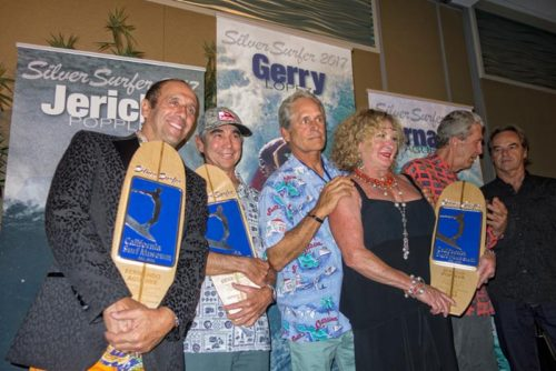 International Surfing Association President Awarded Silver Surfer