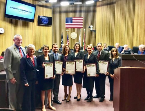 County Board Of Supervisors Honor Deputy District Attorneys