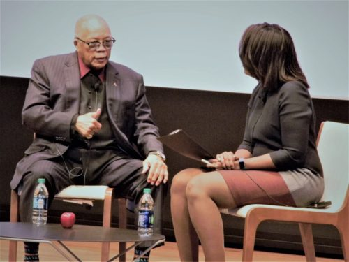 Quincy Jones Interviewed at The National Museum of African American History and Culture's Ingenuity Session
