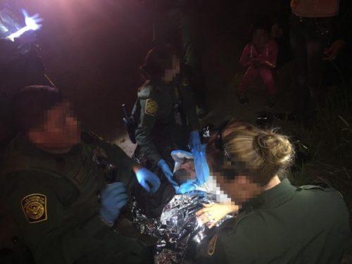 Border Patrol Agents Deliver Baby In Texas Rio Grande Valley