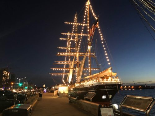 Star Of India Holiday Lights Shine At Maritime Museum