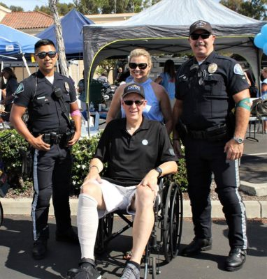 Injured Oceanside Police Officer Returns To Duty