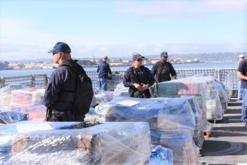 US Coast Guard Offloads 47,000 Pounds Of Cocaine