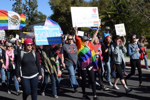 Thousands Attend North County Women's March