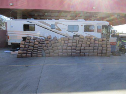 Smuggler Caught With $1.2M Worth Of Marijuana