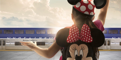 Amtrak Partners With Disneyland Resort To Offer Southern CA Residents Special Travel Rates