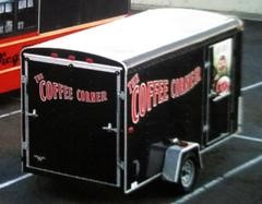 Authorities Search For Stolen Coffee Trailer