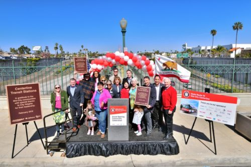 San Diego's First Freeway-Level Transit Stations Completed