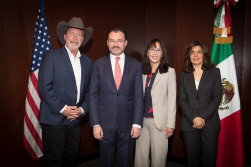 Mexican Secretary Of Foreign Affairs Makes Historic Visit To SANDAG