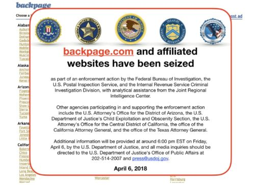 Backpage's Co-Founder And CEO, Related Corporate Entities, Enter Guilty Pleas
